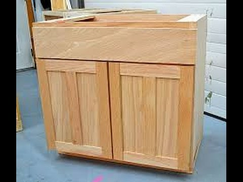 How To Install Cabinets Lower Base Cabinets Youtube