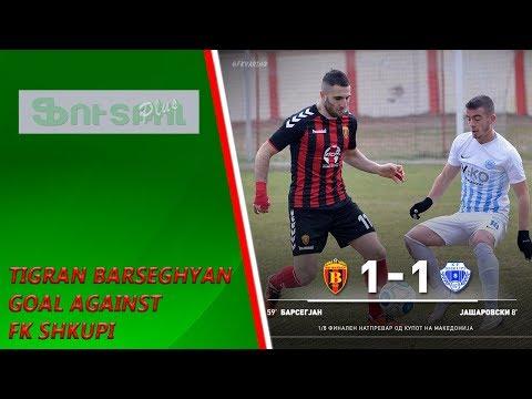 Tigran Barseghyan goal against FK Shkupi