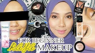 RAYA MAKEUP FOR BEGINNER USING ALL DRUGSTORE PRODUCTS | AFFORDABLE MAKEUP ONLY