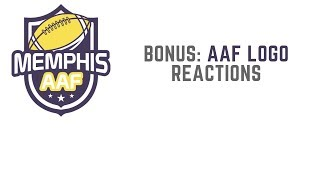 Bonus AAF Logo Reactions