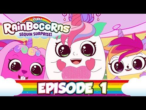 RAINBOCORNS | Egg-citing News | Rainboville Episode 1 | Cartoons for Children