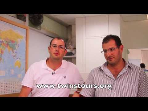 Twins Tours Office Welcome to Israel visit Jerusalem