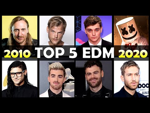Download Top 5 Most ICONIC EDM Songs Of Each Year (2010 to 2020)
