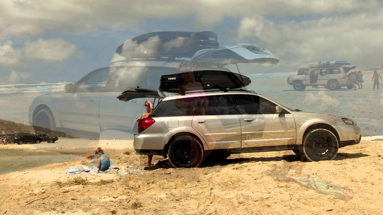 Subaru Forester On Fraser Island