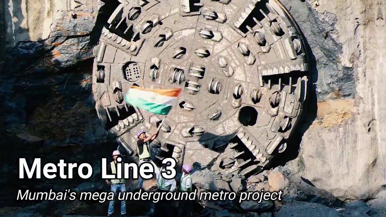 India's mega underground metro project