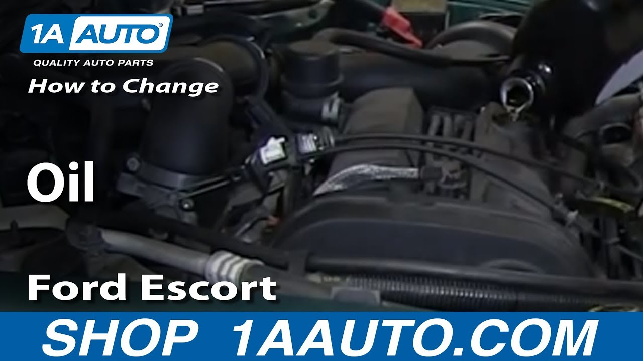Ford 2 0 Zetec Engine Diagram How To Change Oil 1998 03 Ford Escort Zx2 2 0l Dohc Youtube