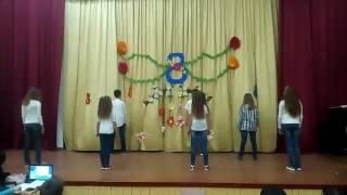 5 класс танец 8 Марта