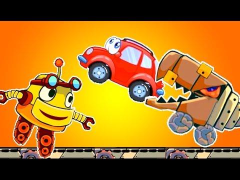 Машинка Вилли и Weesix 2 новые серии. Мультик про приключения доброй машинки Вилли 8 и Weesix.