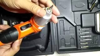 Mini Portable Electric Drill Cordless Screwdriver