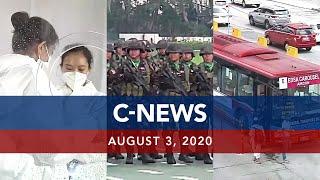 UNTV: C-NEWS | August 3, 2020