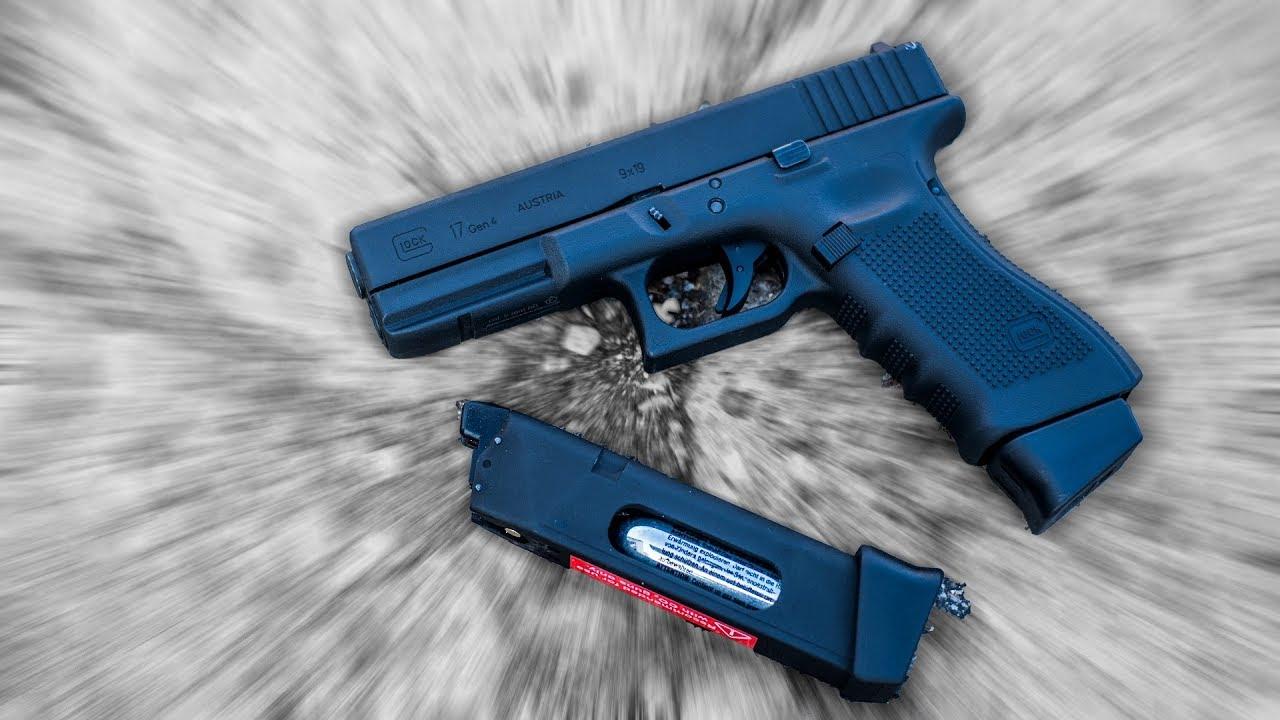 Mein Erstes Mal Glock 17 Airsoft Gen 4 Co Umarex Vfc Pistole Youtube
