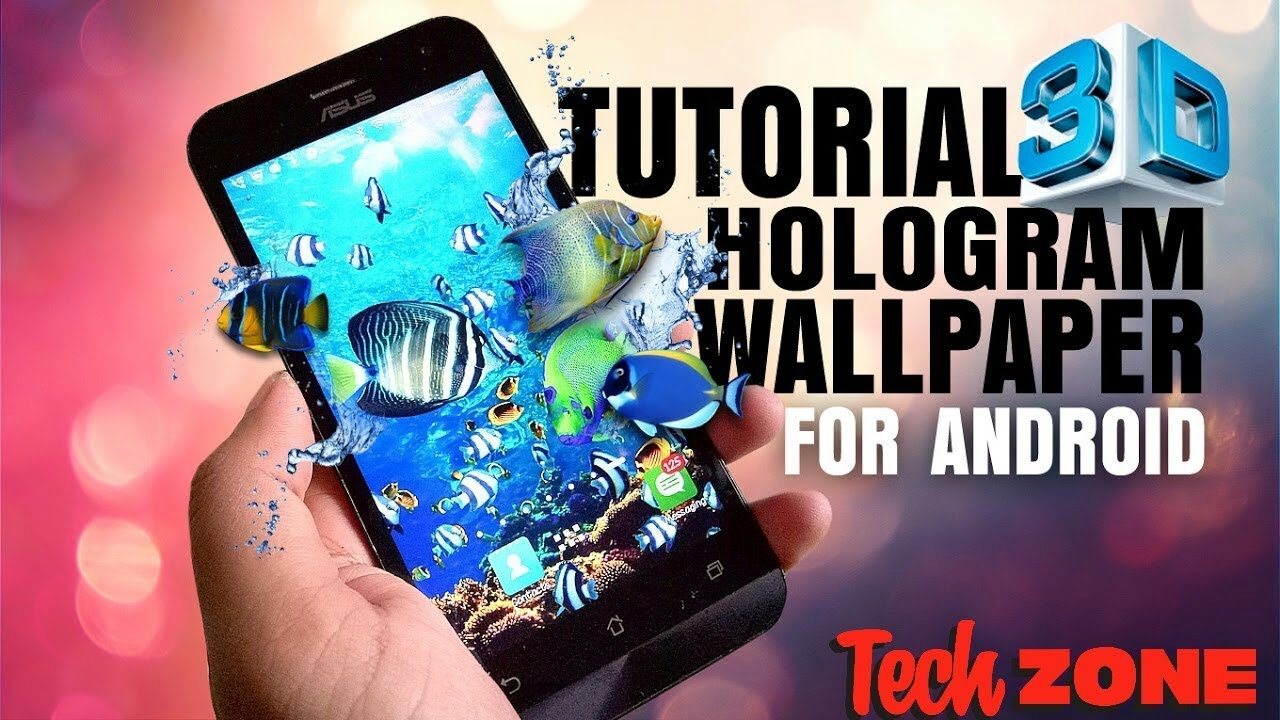Amazing 3D Holographic Wallpapers for Android! - YouTube