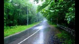 Som de chuva com lindas imagens