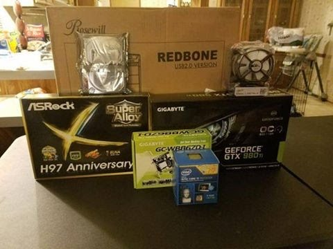 Millers Build (Why Not to Build a PC When You're Sick)