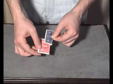 zaubertrick karte verschwinden lassen