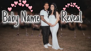 Baby Name Reveal- Princess A 💕