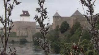 NARVA - IVANGOROD .НАРВА - ИВАНГОРОД(Ивангородская крепость и Нарвский замок., 2011-01-30T17:47:39.000Z)