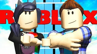 INVADIMOS O ROBLOX! -Roblox (escape Roblox HQ Obby!)