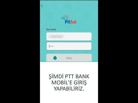 PTT İnternet Bankacılığı Şifre Alma (İlk Kayıt ve Şifre Yenileme)