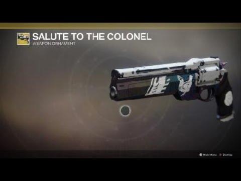 Destiny 2 Salute to the Colonel Ornament 20181205