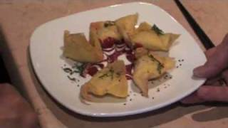 Goat Cheese Won Tons - Todd's Unique Dining