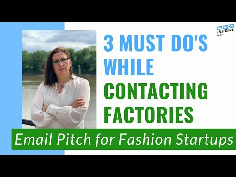 How To Contact CLOTHING MANUFACTURERS/FACTORY.