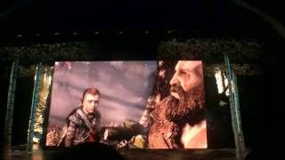 "【E3 2016】Sony PlayStation ""God of War"" Press Conference Opening