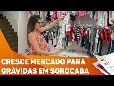 Cresce mercado para grávidas em Sorocaba - TV SOROCABA/SBT
