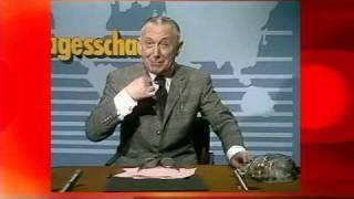 Theo Lingen - Tagesschau 1974