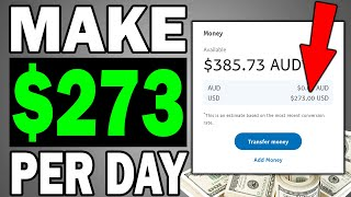EARN $273 A DAY TO COPY AND PASTE: HOW TO MAKE MONEY ONLINE 2020!