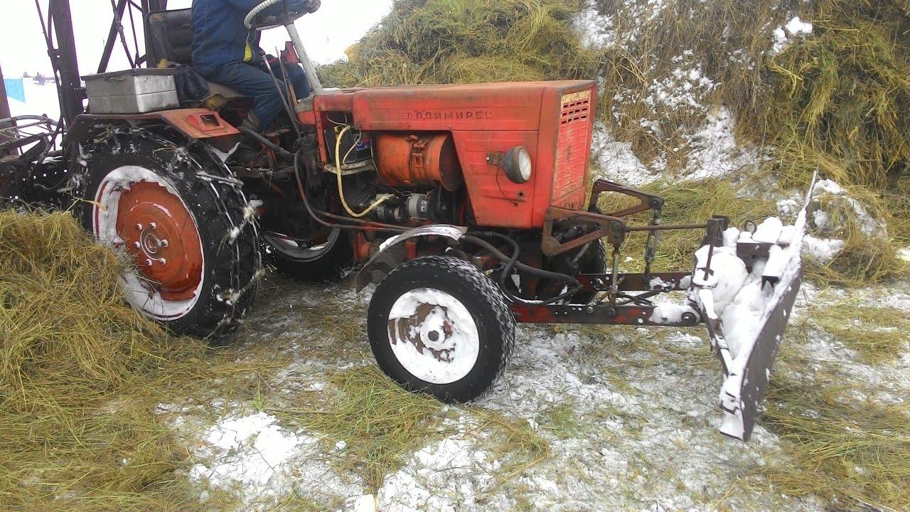 Как сделать заднюю навеску трактора 5