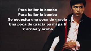 Los Lobos  - La Bamba - LYRICS HD