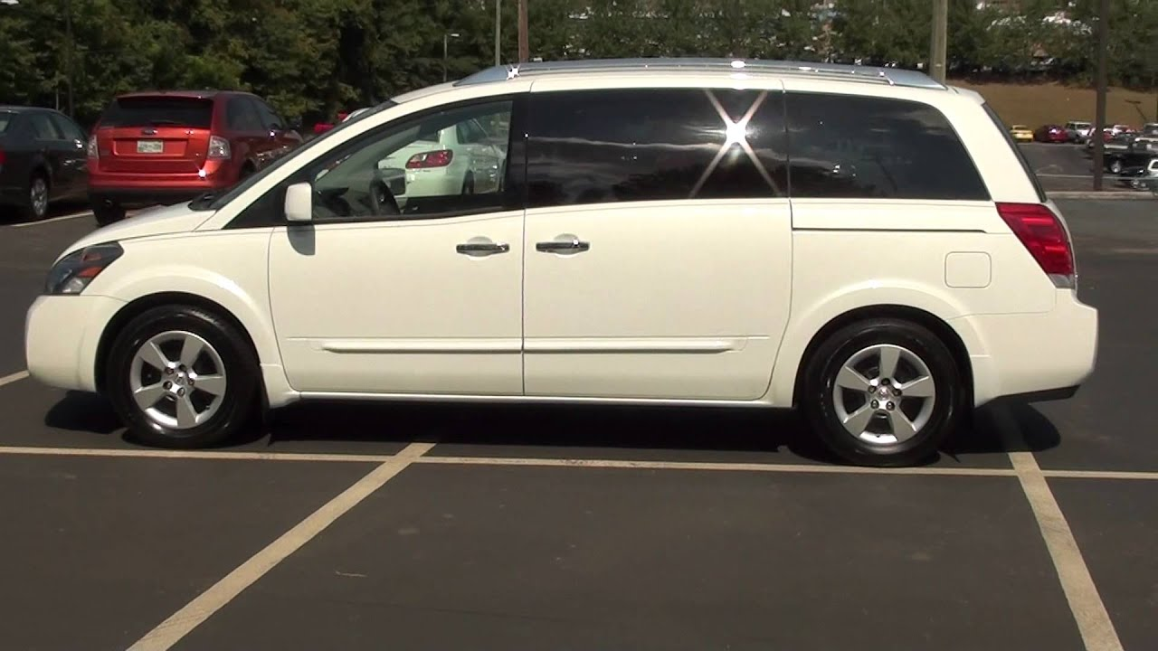 FOR SALE 2008 NISSAN QUEST 35 S 1 OWNER STK 11565B Lcford