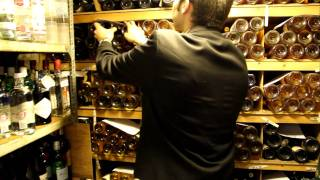 Wine Cellars Tour At Le Gavroche