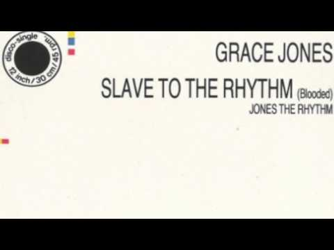 "Grace Jones: ""Jones The Rhythm"" (""Slave To The Rhythm"" B-side)"