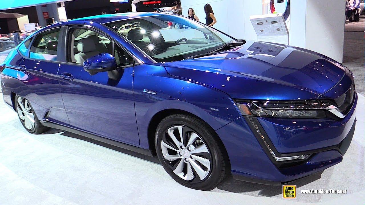 2018 Honda Clarity Electric Exterior And Interior Walkaround 2017 Ny Auto Show
