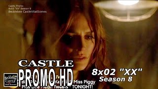"Castle 8x02 Promo Season 8 Episode 2 ""XX"" (HD)"