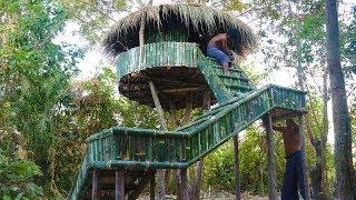 Make Ladders To Tree Hut