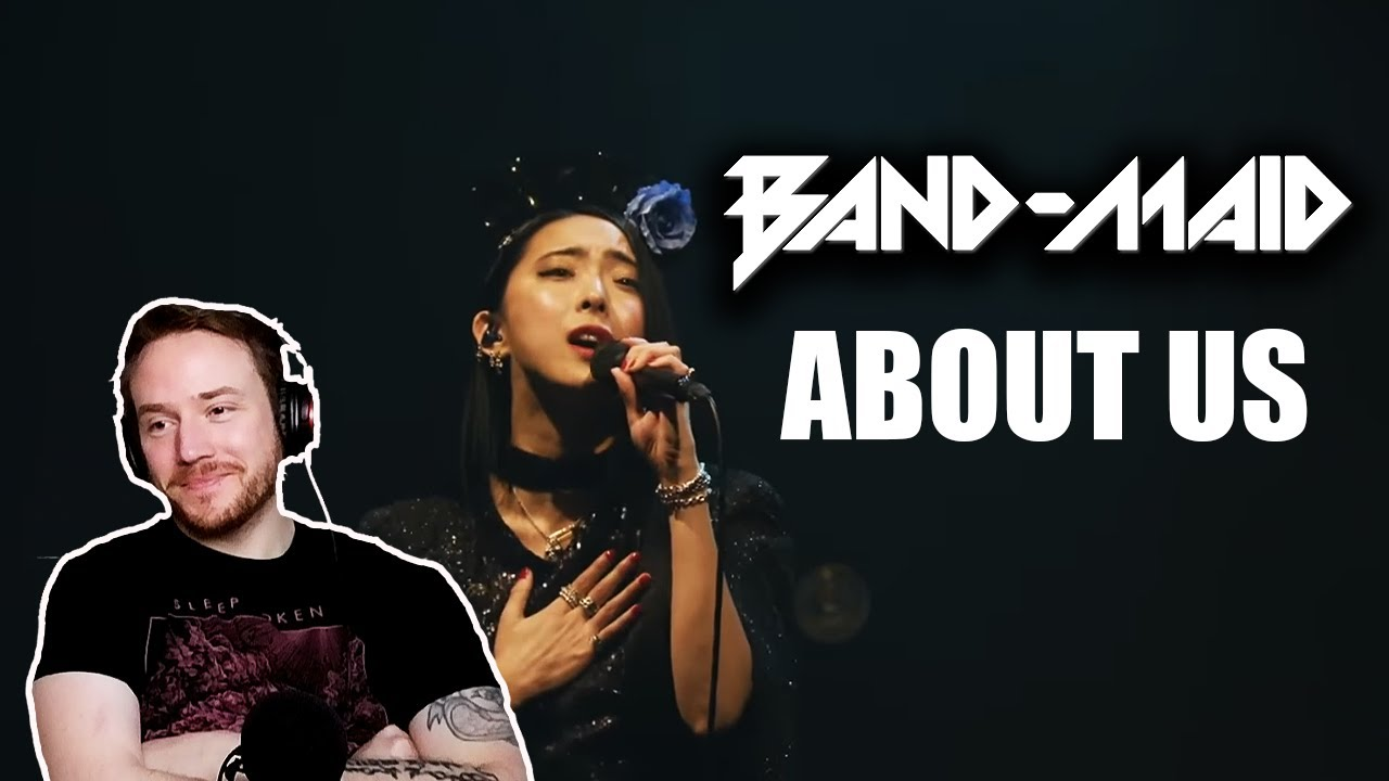 REACTING to BAND MAID (About Us) 🎸🥁🎤