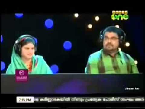 Labbaika padunnu   Amazing Badusha @ Pathinalam ravu in Mediaone tv -  YouTube