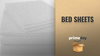 Save Big On Bed Sheets Prime Day Deals 2018: Pinzon 300 Thread Count Ultra Soft Cotton Sheet Set