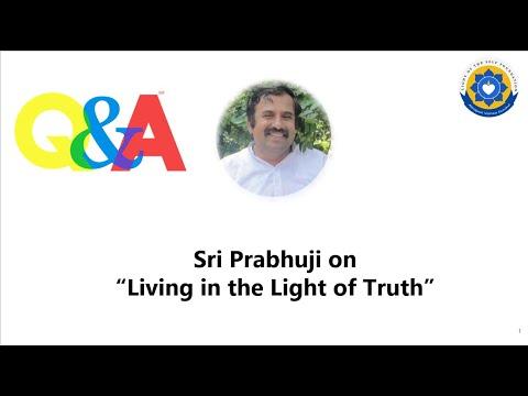 Download QA Living in the Light of Truth #satyamevajayate #truth #selfenquiry #vicharamarg #advaita