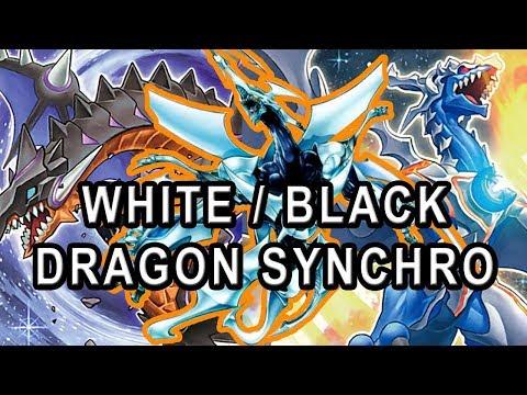 2018 🅱BANLIST READY! BLACK AND WHITE DRAGON SYNCHRO QUASAR / BLAZAR DECK