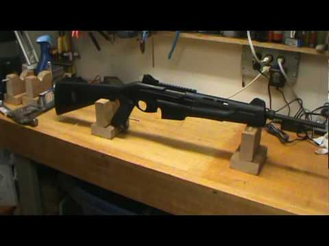 benelli mr1 .223 teardown - youtube