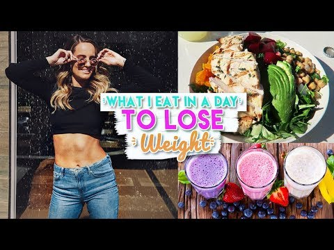 What I Eat in A Day TO LOSE WEIGHT! (Gluten Free Dairy Free)