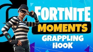Grappling Hook onto a Guided Rocket Kill! - Fortnite Moments