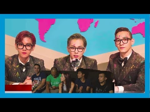 KPop + Nova Voices || Hey Mama/ Ka-CHING EXO CBX MV Video Reaction(Video Reacción)
