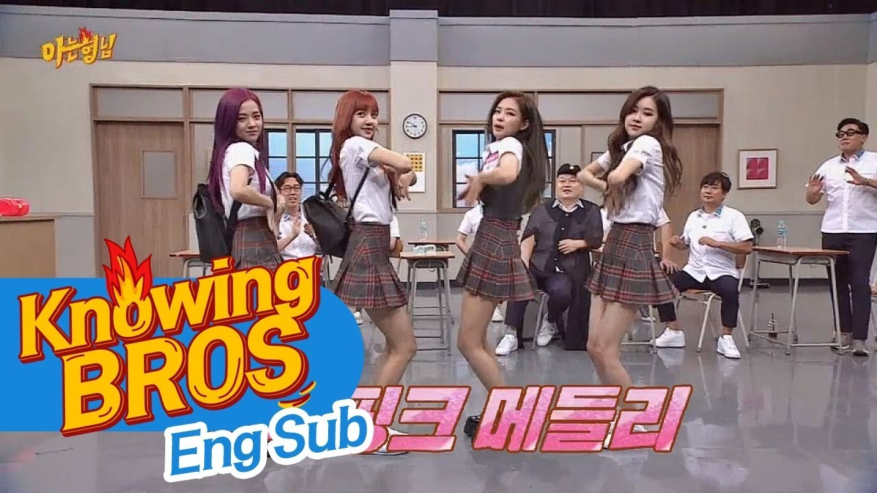 [Full Version] BlackPink Medley ☆ 'Whistle + Playing With Fire +  A I I Y L ' ♪ Knowing Bros  Ep  87