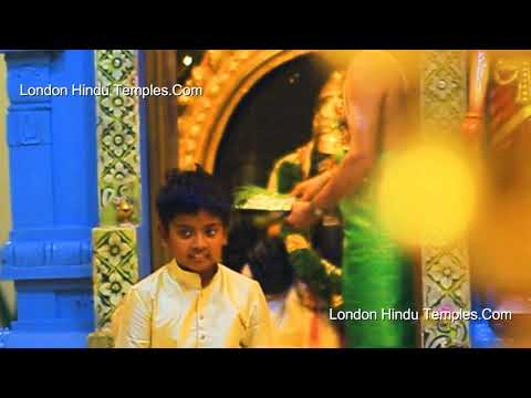 1008 Conch Shell abhishekam/Sri Raja Rajeswari Amman Temple/Stoneleigh/UK