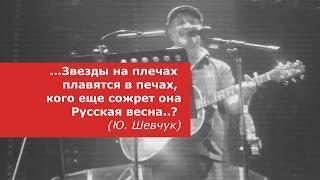 """У """"русских патриотов"""" горят хвосты от новой песни Шевчука"""